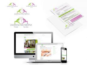 CGP, tiskovine in oblikovanje spletne strani, Zasebna fizioterapija